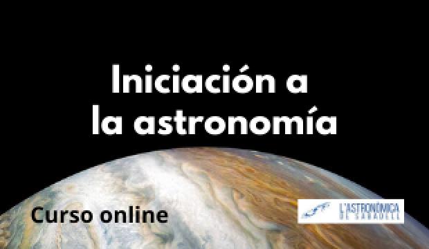 Curso online: Iniciación a la astronomía