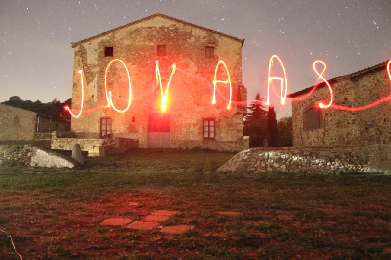 Lightpainting La Mata