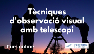 Curs telescopi CAT WEB
